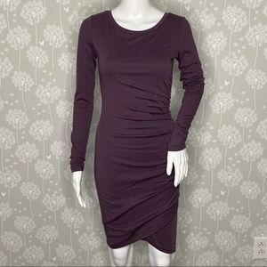 Leith Dress Size XSmall Purple Body-Con